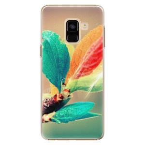Plastové pouzdro iSaprio Autumn 02 na mobil Samsung Galaxy A8 2018