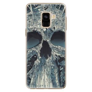 Plastové pouzdro iSaprio Abstract Skull na mobil Samsung Galaxy A8 2018