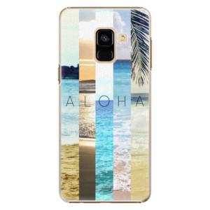 Plastové pouzdro iSaprio Aloha 02 na mobil Samsung Galaxy A8 2018