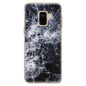 Plastové pouzdro iSaprio Praskliny na mobil Samsung Galaxy A8 2018