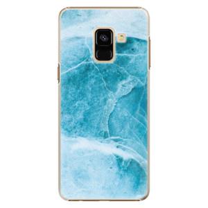 Plastové pouzdro iSaprio Blue Marble na mobil Samsung Galaxy A8 2018