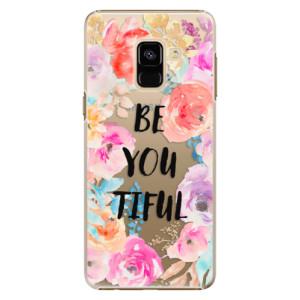 Plastové pouzdro iSaprio BeYouTiful na mobil Samsung Galaxy A8 2018