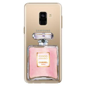 Plastové pouzdro iSaprio Chanel Rose na mobil Samsung Galaxy A8 2018