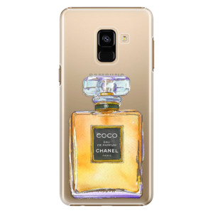 Plastové pouzdro iSaprio Chanel Gold na mobil Samsung Galaxy A8 2018
