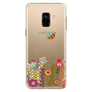 Plastové pouzdro iSaprio Bee 01 na mobil Samsung Galaxy A8 2018