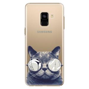 Plastové pouzdro iSaprio Šílená Číča 01 na mobil Samsung Galaxy A8 2018