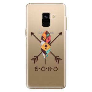 Plastové pouzdro iSaprio BOHO na mobil Samsung Galaxy A8 2018