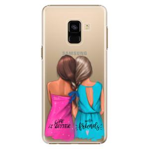 Plastové pouzdro iSaprio Best Friends na mobil Samsung Galaxy A8 2018