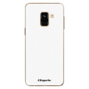 Plastové pouzdro iSaprio 4Pure bílé na mobil Samsung Galaxy A8 2018