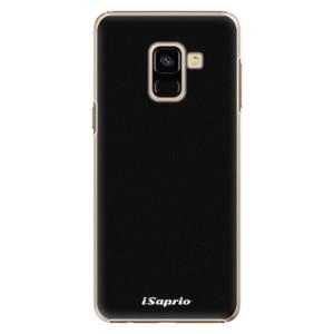 Plastové pouzdro iSaprio 4Pure černé na mobil Samsung Galaxy A8 2018