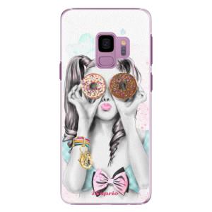 Plastové pouzdro iSaprio Donutky Očiska 10 na mobil Samsung Galaxy S9