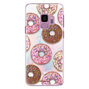 Plastové pouzdro iSaprio Donutky Všude 11 na mobil Samsung Galaxy S9
