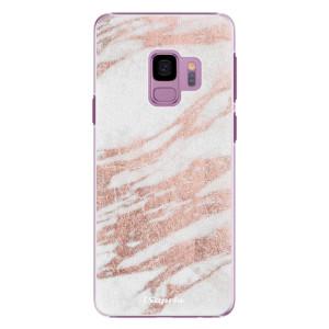 Plastové pouzdro iSaprio Růžovozlatý Mramor 10 na mobil Samsung Galaxy S9 - poslední kus za tuto cenu