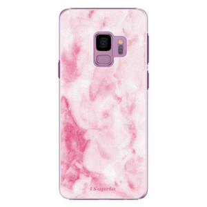 Plastové pouzdro iSaprio RoseMarble 16 na mobil Samsung Galaxy S9 - poslední kus za tuto cenu