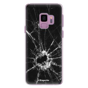 Plastové pouzdro iSaprio Broken Glass 10 na mobil Samsung Galaxy S9