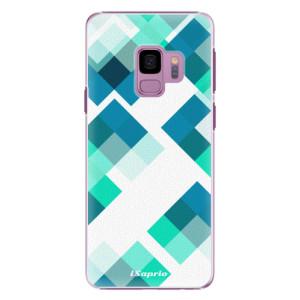 Plastové pouzdro iSaprio Abstract Squares 11 na mobil Samsung Galaxy S9