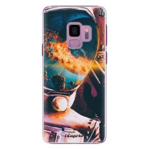 Plastové pouzdro iSaprio Astronaut 01 na mobil Samsung Galaxy S9