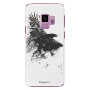 Plastové pouzdro iSaprio Havran 01 na mobil Samsung Galaxy S9