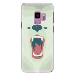 Plastové pouzdro iSaprio Angry Bear na mobil Samsung Galaxy S9