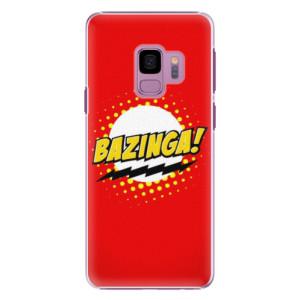 Plastové pouzdro iSaprio Bazinga 01 na mobil Samsung Galaxy S9