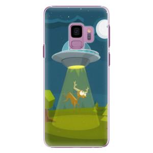 Plastové pouzdro iSaprio Alien 01 na mobil Samsung Galaxy S9