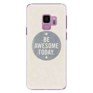 Plastové pouzdro iSaprio Awesome 02 na mobil Samsung Galaxy S9
