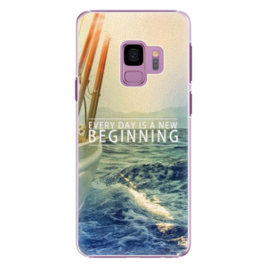 Plastové pouzdro iSaprio Beginning na mobil Samsung Galaxy S9