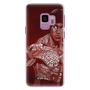 Plastové pouzdro iSaprio Bruce Lee na mobil Samsung Galaxy S9