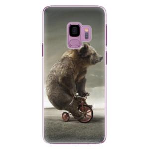 Plastové pouzdro iSaprio Bear 01 na mobil Samsung Galaxy S9