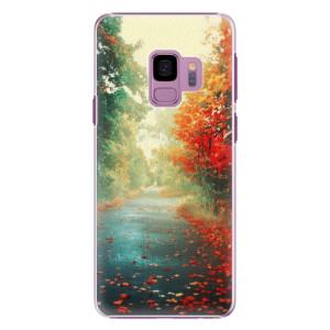 Plastové pouzdro iSaprio Autumn 03 na mobil Samsung Galaxy S9