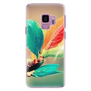 Plastové pouzdro iSaprio Autumn 02 na mobil Samsung Galaxy S9