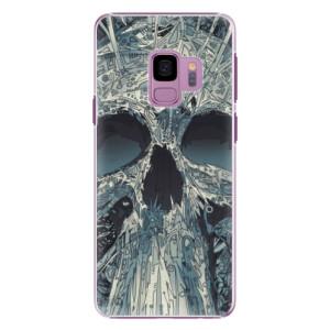 Plastové pouzdro iSaprio Abstract Skull na mobil Samsung Galaxy S9
