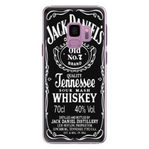 Plastové pouzdro iSaprio Jack Daniels na mobil Samsung Galaxy S9 - poslední kus za tuto cenu