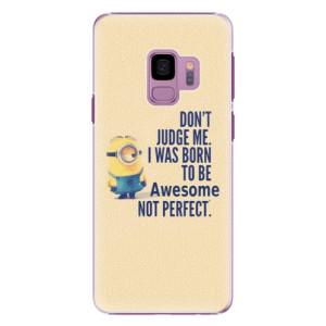 Plastové pouzdro iSaprio Be Awesome na mobil Samsung Galaxy S9 - poslední kus za tuto cenu