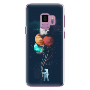 Plastové pouzdro iSaprio Balloons 02 na mobil Samsung Galaxy S9