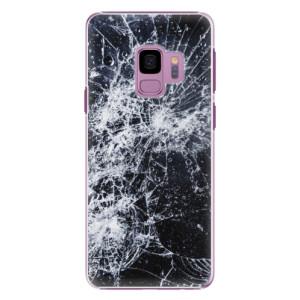 Plastové pouzdro iSaprio Praskliny na mobil Samsung Galaxy S9