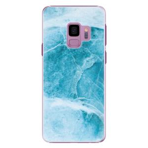 Plastové pouzdro iSaprio Blue Marble na mobil Samsung Galaxy S9
