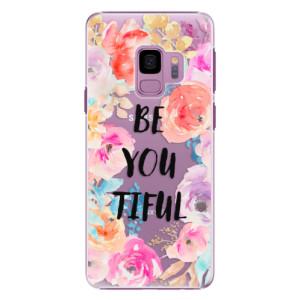 Plastové pouzdro iSaprio BeYouTiful na mobil Samsung Galaxy S9