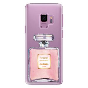 Plastové pouzdro iSaprio Chanel Rose na mobil Samsung Galaxy S9