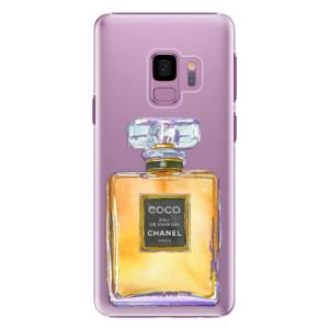 Plastové pouzdro iSaprio Chanel Gold na mobil Samsung Galaxy S9