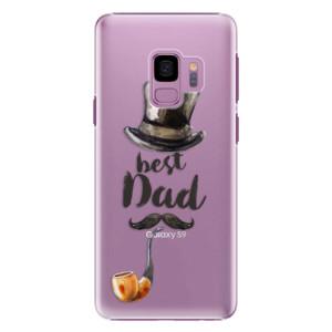 Plastové pouzdro iSaprio Best Dad na mobil Samsung Galaxy S9