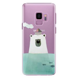 Plastové pouzdro iSaprio Bear With Boat na mobil Samsung Galaxy S9