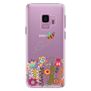 Plastové pouzdro iSaprio Bee 01 na mobil Samsung Galaxy S9