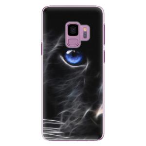 Plastové pouzdro iSaprio black Puma na mobil Samsung Galaxy S9