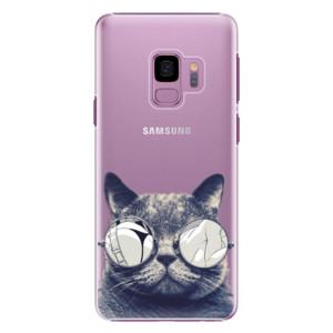 Plastové pouzdro iSaprio Šílená Číča 01 na mobil Samsung Galaxy S9
