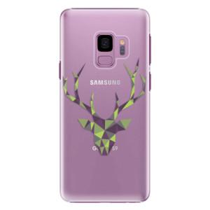 Plastové pouzdro iSaprio Zelený Jelínek na mobil Samsung Galaxy S9