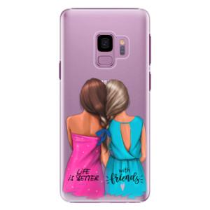 Plastové pouzdro iSaprio Best Friends na mobil Samsung Galaxy S9