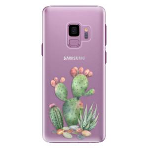 Plastové pouzdro iSaprio Kaktusy 01 na mobil Samsung Galaxy S9