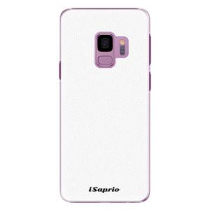Plastové pouzdro iSaprio 4Pure bílé na mobil Samsung Galaxy S9