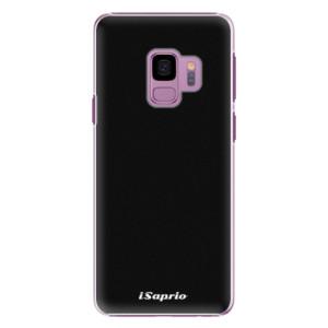 Plastové pouzdro iSaprio 4Pure černé na mobil Samsung Galaxy S9